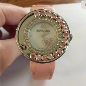 SWAROVSKI Lovely Crystals Heart 5096032 Watch Pink